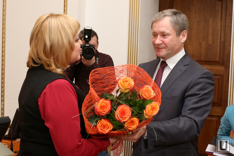 Заседание Правительства области Курган, кокорин алексей, сапожникова ольга