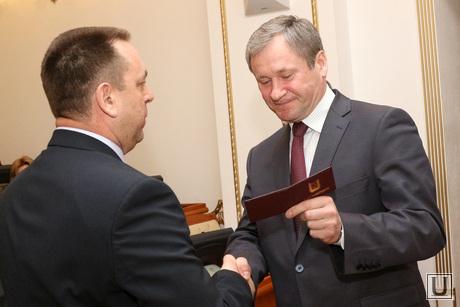 Заседание Правительства области Курган, кокорин алексей, юсупов нияз