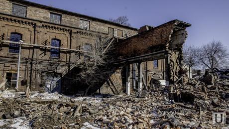 Снос завод пластмасс тюмень, завод пластмасс тюмень руины завод снос