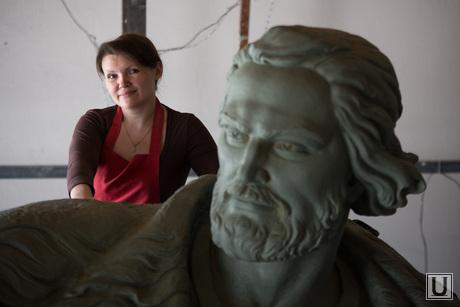 Скульптура Тимофея Невежина для Кургана. Литейная мастерская Дубровина. Екатеринбург, красношеина ольга