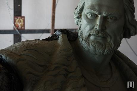 Скульптура Тимофея Невежина для Кургана. Литейная мастерская Дубровина. Екатеринбург, невежин тимофей