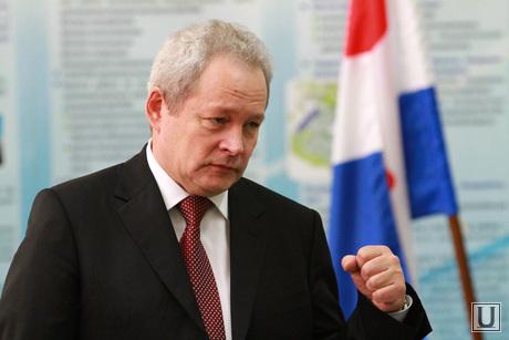 Пермская делегация в Кольцово и в Академическом, басаргин виктор, губернатор пермского края