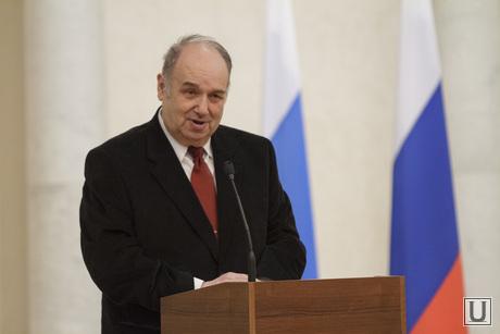 Награждение лауретов губернаторской премии в сфере высшего образования, набойченко станислав, президент УрФУ