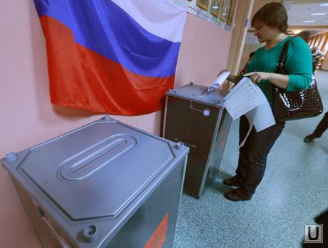 Выборы в Екатеринбурге, выборы в гордуму, урна для голосования