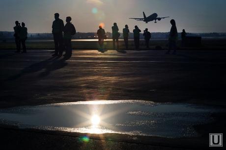 Споттинг в Кольцово, самолет, авиа