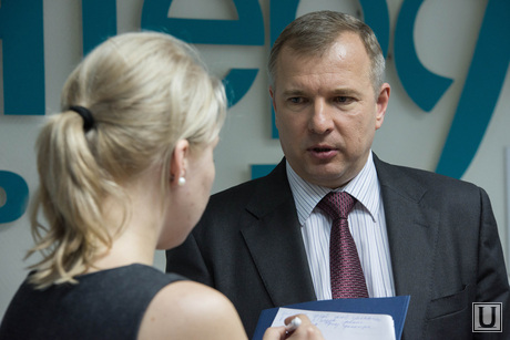 Пресс-конференция в Интерфаксе по энергосетевым компаниям. Екатеринбург, лебедев юрий, ио генерального директора оао мрск урала
