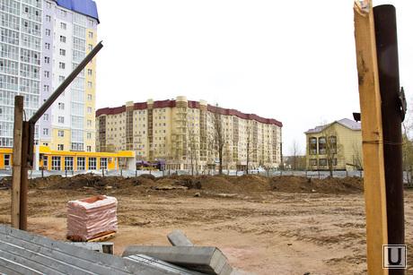 Незаконный дом Нижневартовскстройдеталь. , стройка