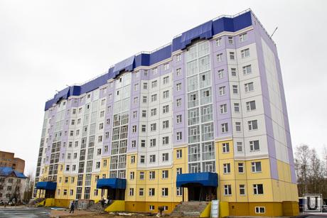 Незаконный дом Нижневартовскстройдеталь. , дом, новостройка