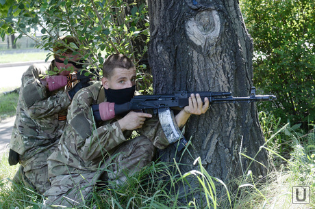 Перестрелка в Аэропорту Донецка. Украина, ополчение, бойцы, война, перестрелка