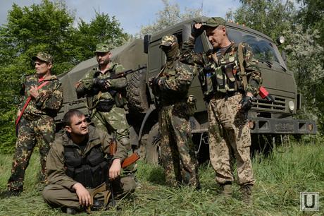 Донецкая область. Тренировочная база батальона