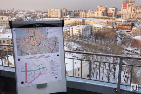 План застройки города в районе Центрального стадиона к 2018 году. Екатеринбург, екатеринбург, план города, схема застройки