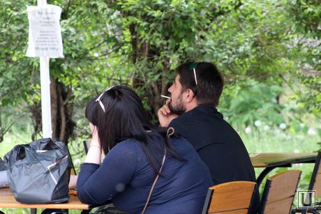 Соблюдение антитабачного закона Курган, курение, кафе ностальжи
