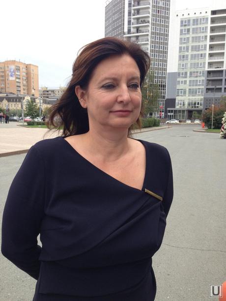 Татьяна Гиблер, председатель избиркома Тюмени, гиблер татьяна