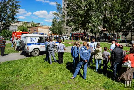 Взрыв на Сыромолотова, 28. Екатеринбург, полк ппс
