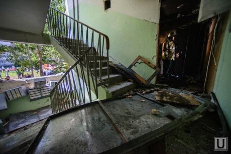 Взрыв на Сыромолотова, 28. Екатеринбург, разрушенный подъезд