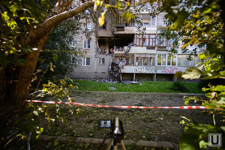Взрыв на Сыромолотова, 28. Екатеринбург, разрушенный дом