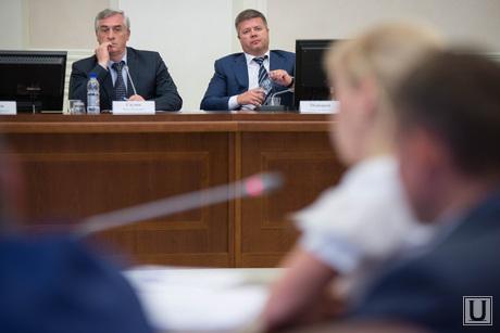 Заседание по реформе МСУ в полпредстве по УрФО. Екатеринбург, силин яков, мошаров станислав