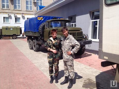 Гуманитарные войска поездка. Тюмень. Украина.
