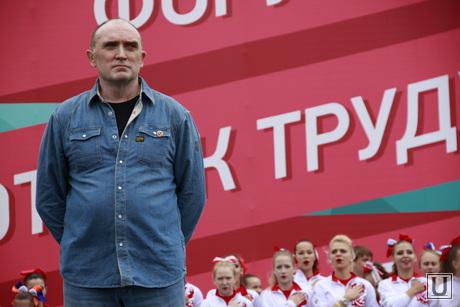 Губернатор Челябинской области Борис Дубровский сдает нормы ГТО, дубровский борис