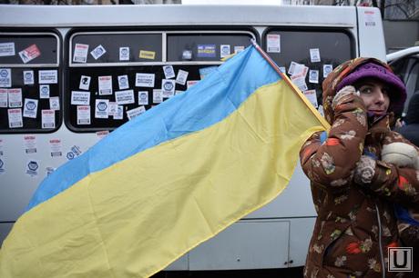 Евромайдан. Киев. Украина, флаг украины