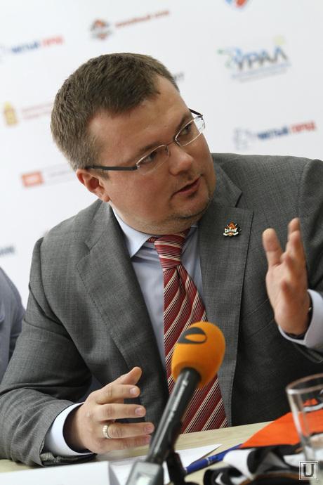 Пресс-конференция ХК Спутник. Нижний Тагил, жарич алексей