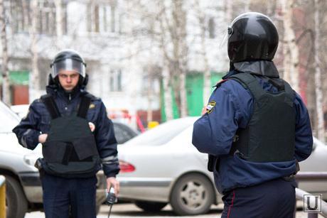 Захват заложников. Нижневартовск., полиция, оцепление, мвд
