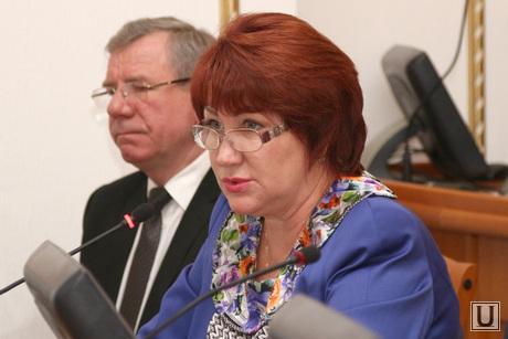 Заседание Правительства области Курган, перминова елена