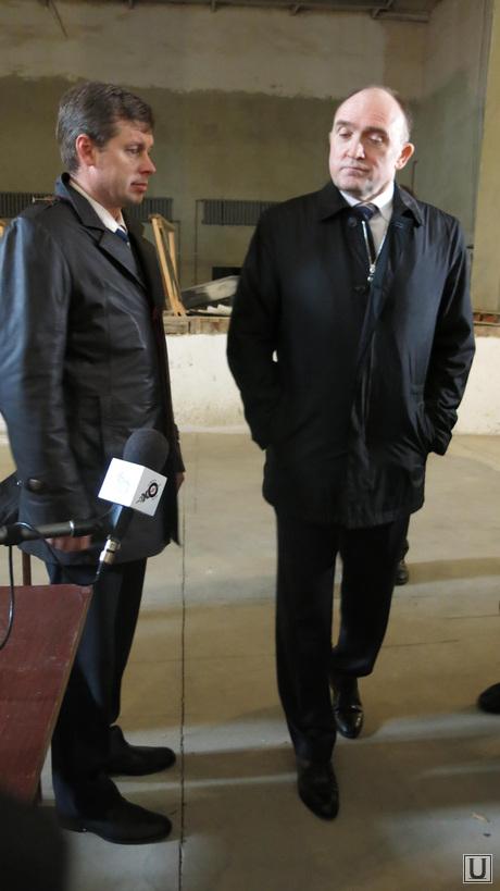 Врио губернатора Челябинской области Борис Дубровский в Чебаркуле, дубровский борис, орлов андрей