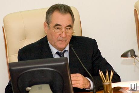 Заседание Правительства области здание Правительства Курган, богомолов олег
