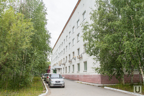 Синтез и больница. Нижневартовск., больница, здание