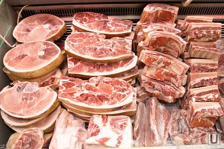 Клипарт, мясо, продукты, свинина, прилавок, заморозка