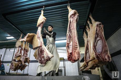Клипарты, мясо, мясокомбинат, туши, мясник