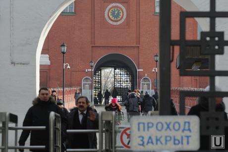 Административные здания Москвы. Иллюстрации. Антон Белицкий  , кремль, проход закрыт