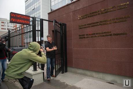 Евгений Ройзман после допроса и полиграфа в СКР по СО. Екатеринбург, ройзман евгений