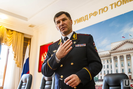 Генерал МВД Алтынов. Тюмень