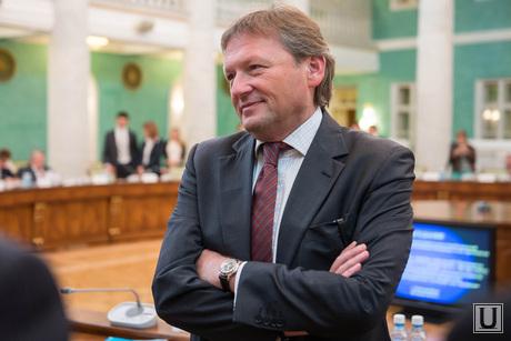 Заседание в резиденции губернатора СО по инвестициям и Игорь Левитин.  Екатеринбург, титов борис