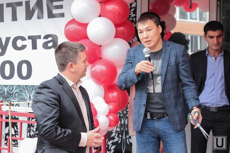 Руслан Проводников на открытии магазина в ХМАО, руслан проводников