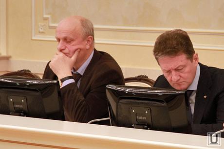 Заседание по инвестициям в резиденции губернатора. Куйвашев и Ко, совещание по инвестициям, воробьев алексей, директор ренова-стройгруп Академический, козицын андрей, гендиректор УГМК, УГМК