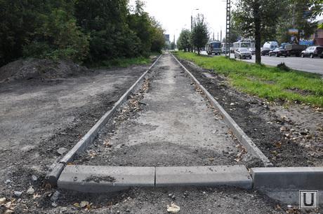 Ремонт дорог Курган. Сентябрь 2014 года , ремонт дорог курган, проспект машиностроителей