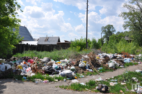 Свалки Кургана. Июнь 2014 год, свалки, мусор, тбо