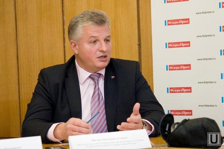 Партийные лидеры Зауралья обсудили политические перспективы на 2014 год, семенов виктор, справедливая россия