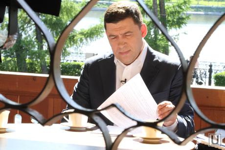 Куйвашев в Доме Журналистов, куйвашев евгений, губернатор свердловской области