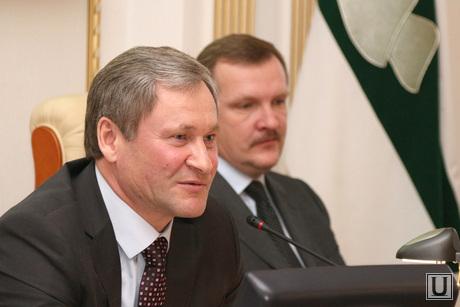 Заседание Правительства области Курган, кокорин алексей, путмин сергей