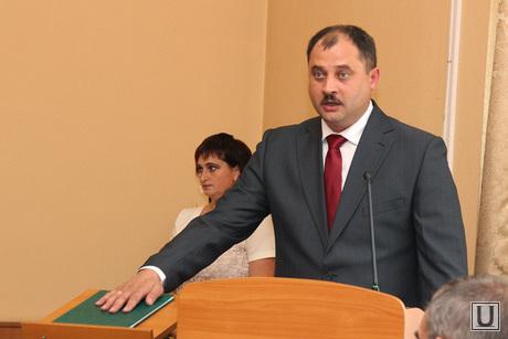 Выборы Главы Кургана, выборы главы кургана, руденко присяга