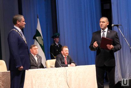 Инаугурация Алексея Кокорина Курган, инаугурация кокорина, ильтяков александр поздравляет