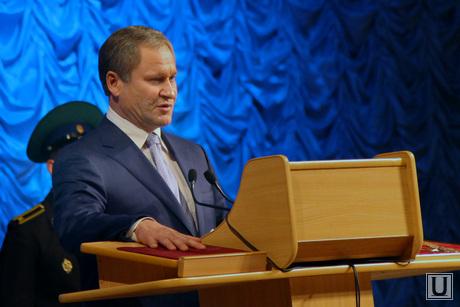 Инаугурация Алексея Кокорина Курган, кокорин клятва