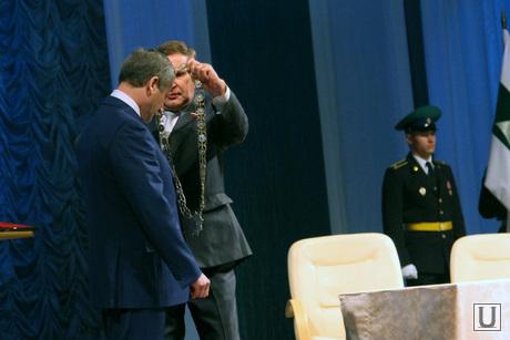 Инаугурация Алексея Кокорина Курган, инаугурация кокорина, кокорину знак губернатора