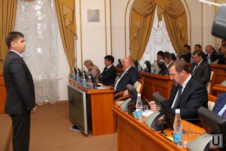 Заседание Областной Думы Курган, ксенофонтов представление на должность