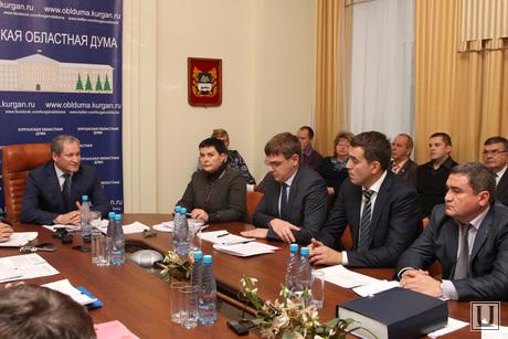 Совещание по энерготарифам Курган, участники совещания