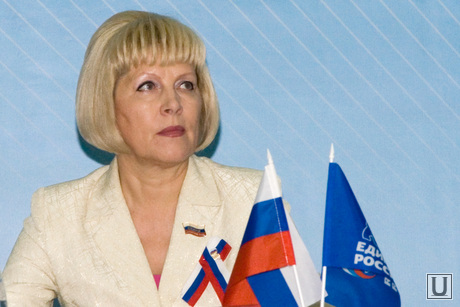 Конференция Единой России  Курган  съемка 2011года, воинкова татьяна